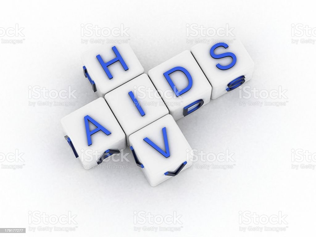Hiv & aids royalty-free stock photo