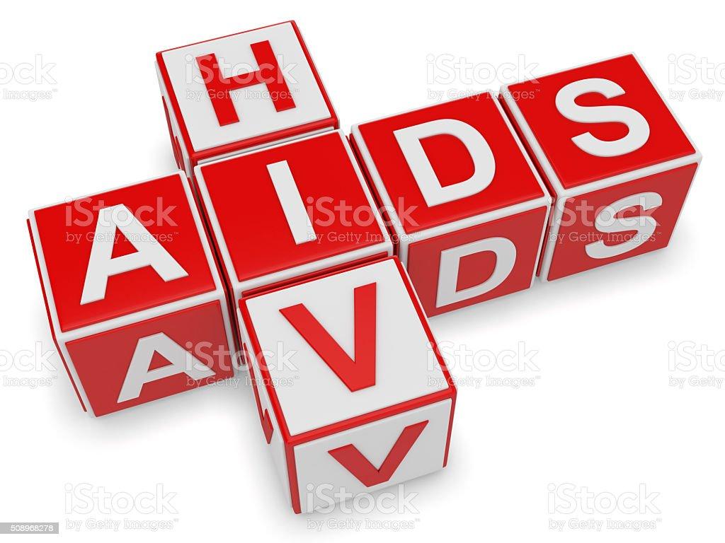 Hiv & aids stock photo