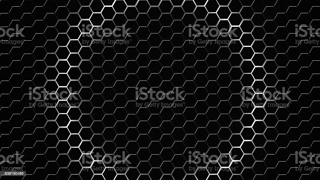 Hive Technology Background stock photo