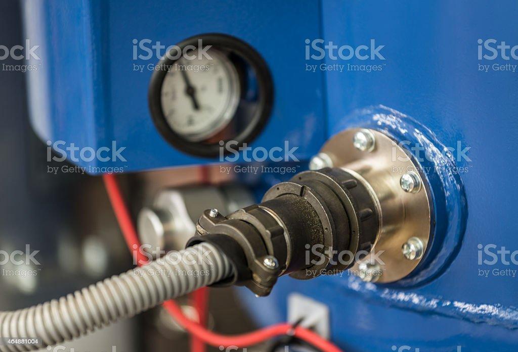HI-Volage circuitry stock photo