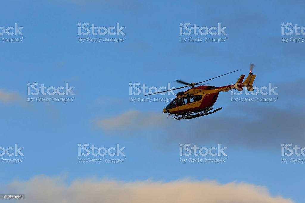 Hélicoptère stock photo