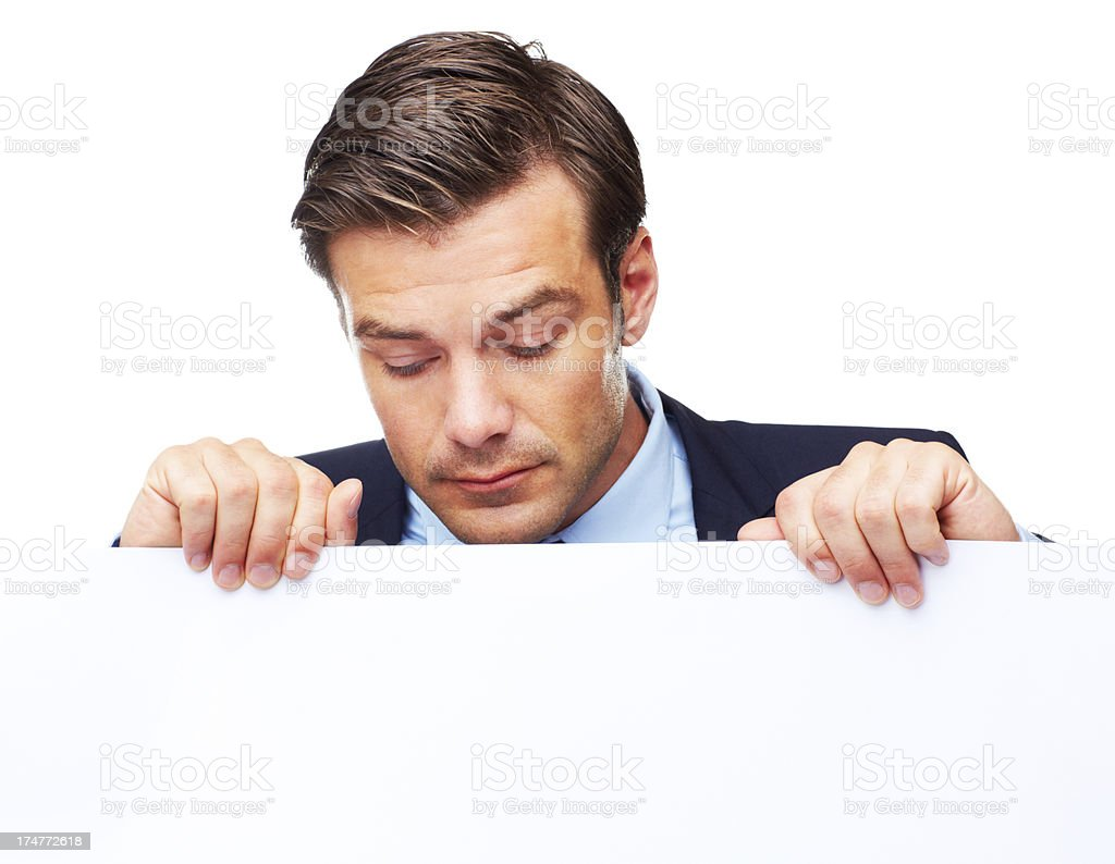 Hmm, what's this here? royalty-free stock photo