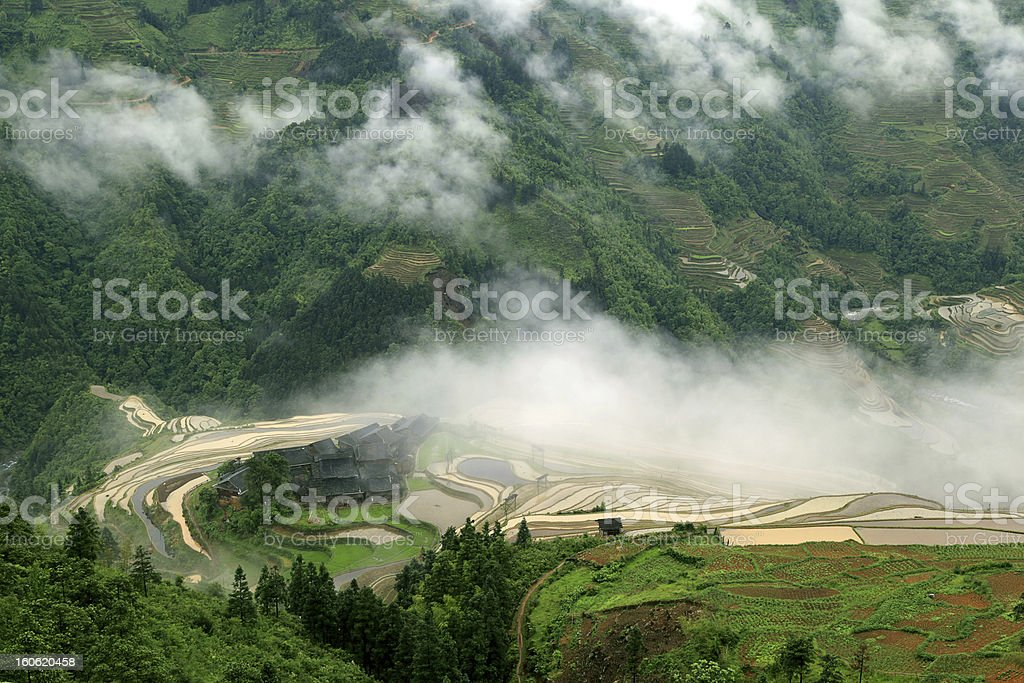Hmong village royalty-free stock photo