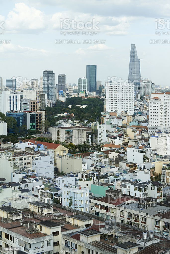 Ho Chi Minh City Cityscape. royalty-free stock photo