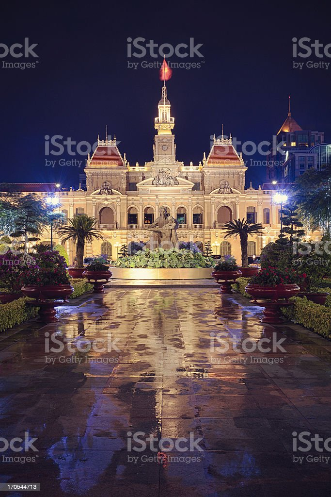 Ho Chi Minh City People's Committee stock photo