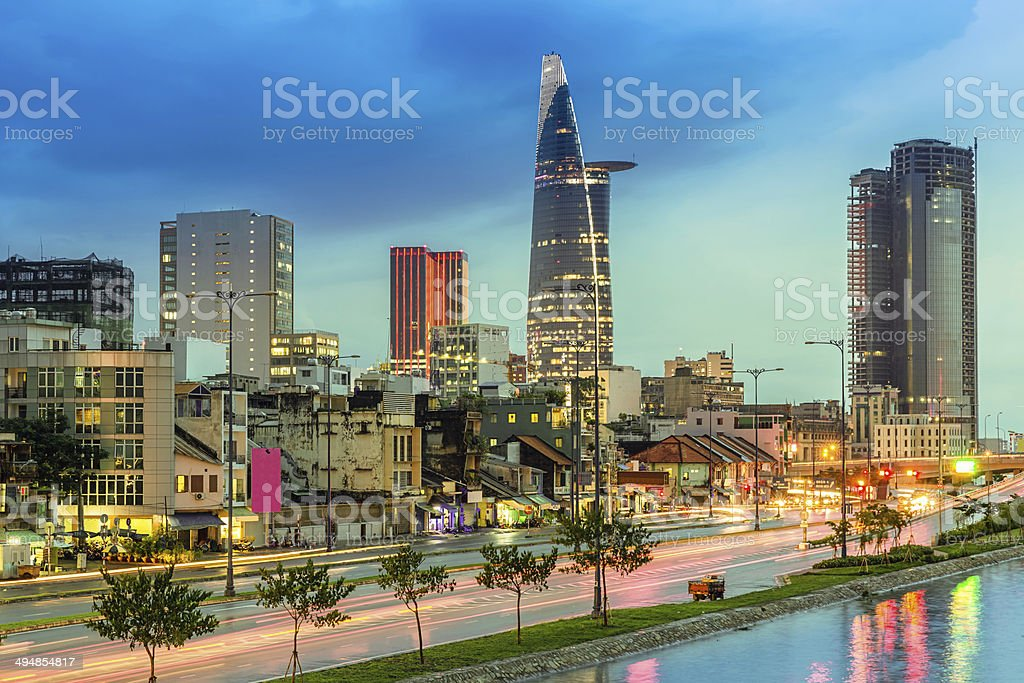 Ho Chi Minh City Vietnam stock photo