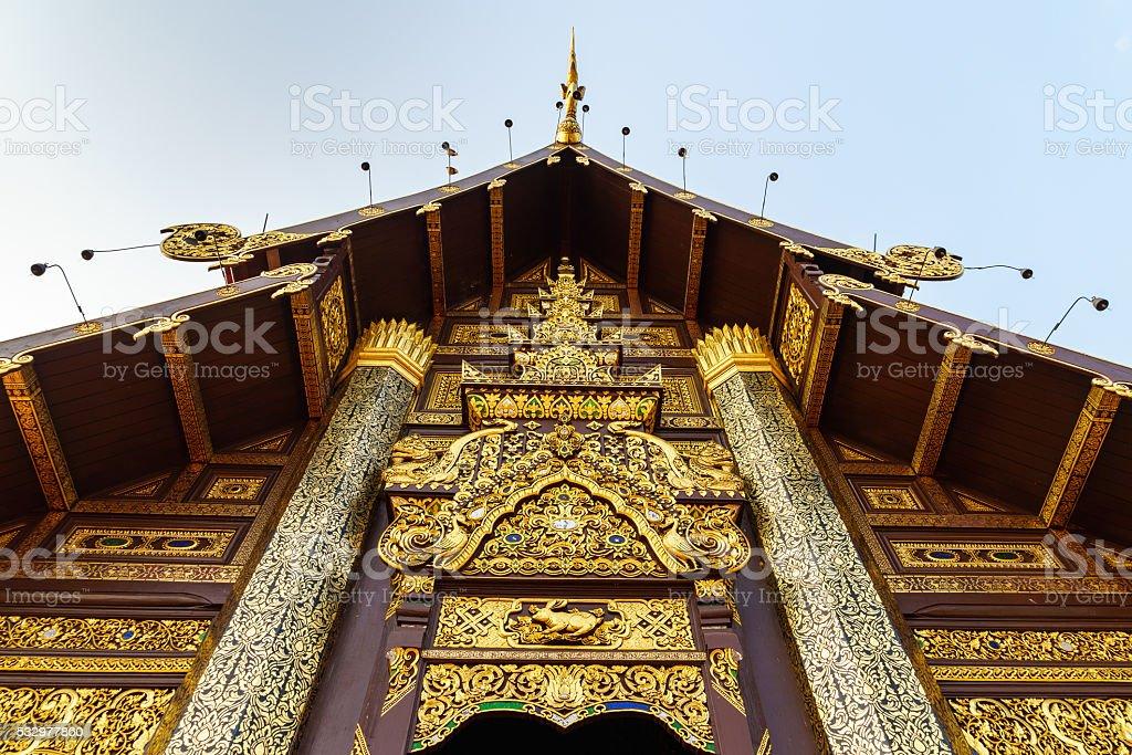 Ho Kham Luang in Royal Park Rajapruek stock photo
