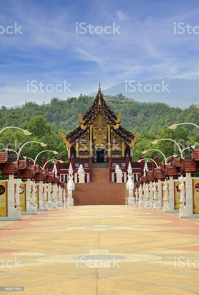 Ho Kham Luang,Chiang mai Thailand royalty-free stock photo