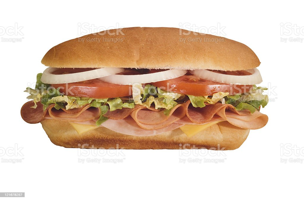 hoagie royalty-free stock photo