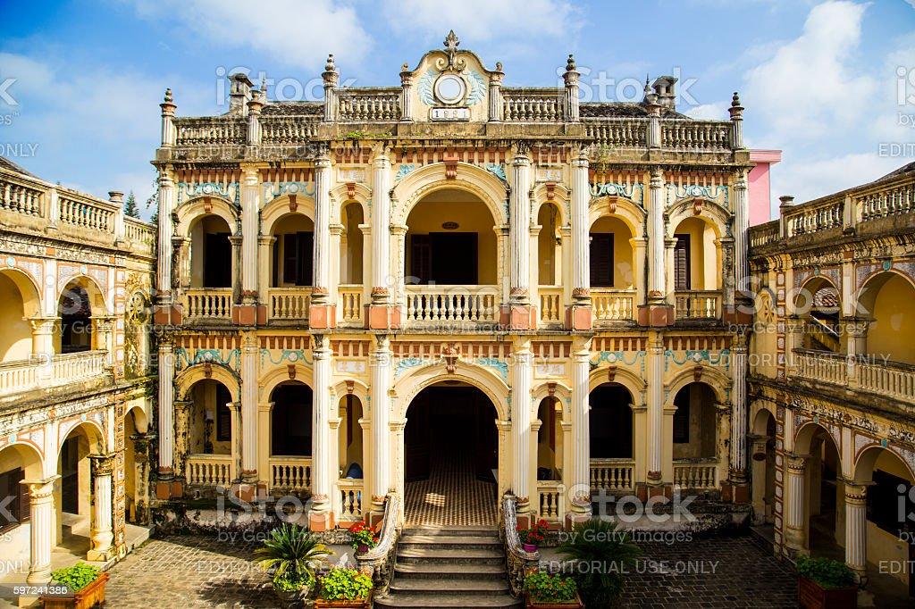 Hoang A Tuong Royal imperial stock photo