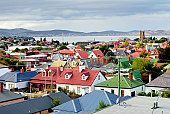 Hobart rooftops, Tasmania, Australia