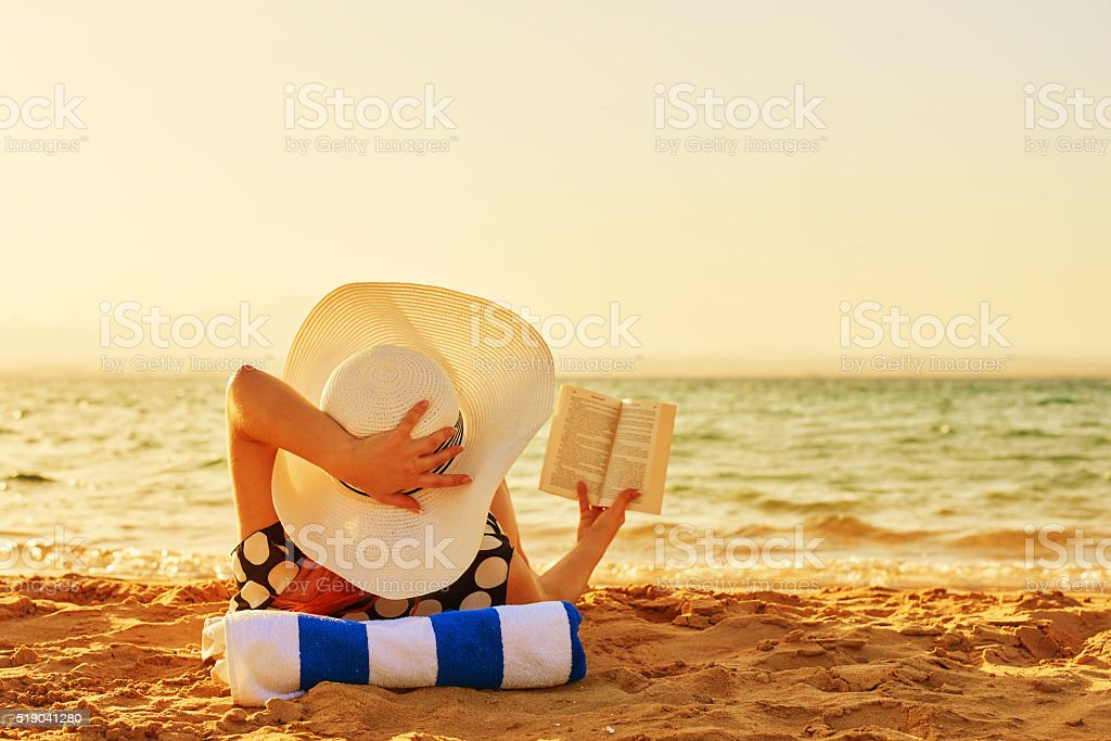 hobbies in my vacation stock photo