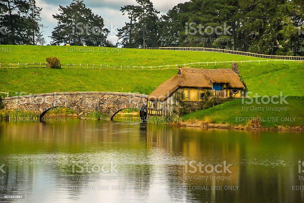 Hobbit - New Zealand stock photo