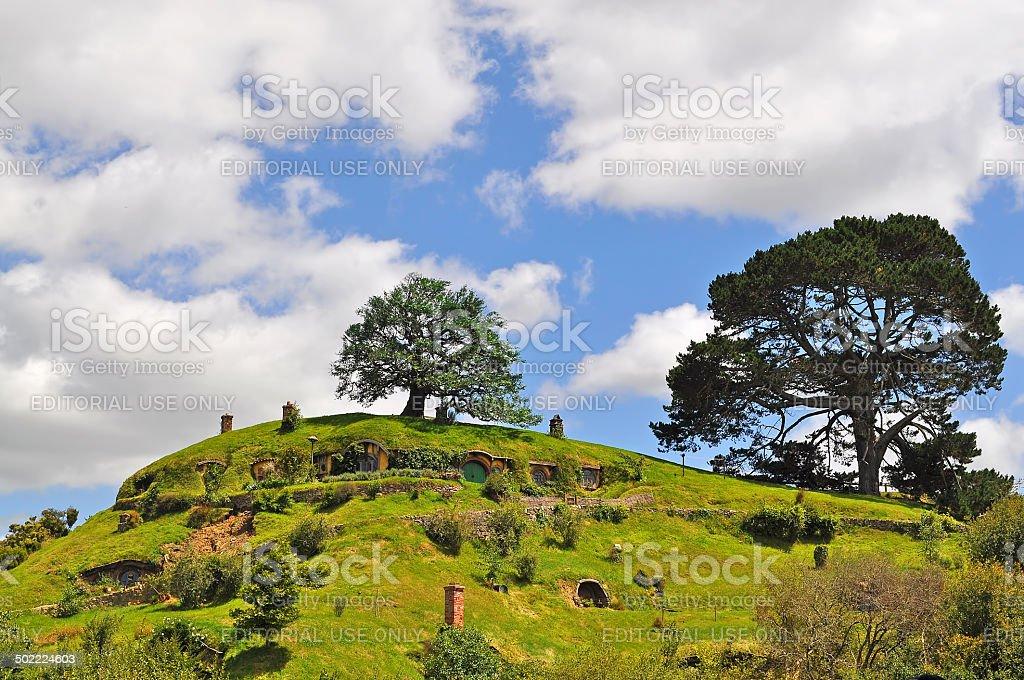 Hobbiton stock photo