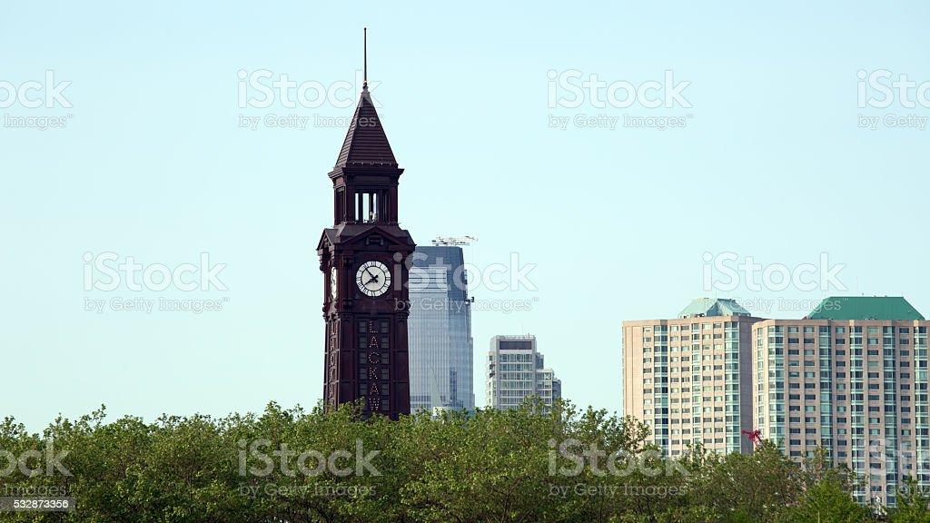 Hoboken Train Station stock photo