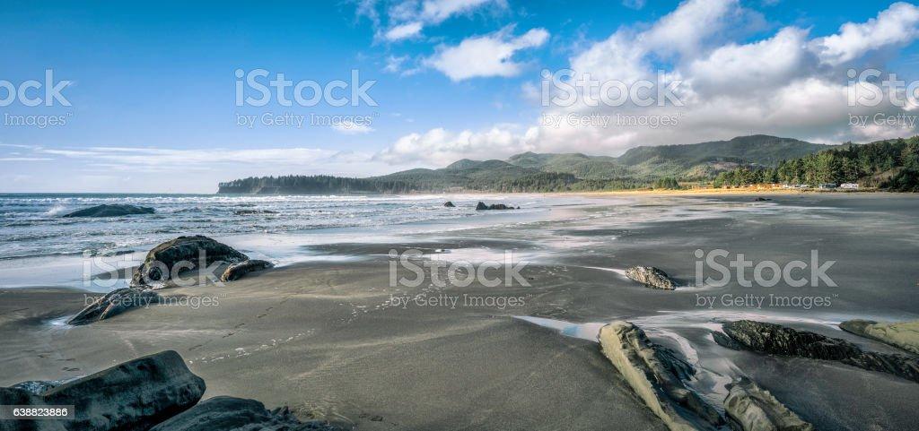 Hobuck Beach, Shi Shi Beach, Cape Flattery - Neah Bay, WA stock photo