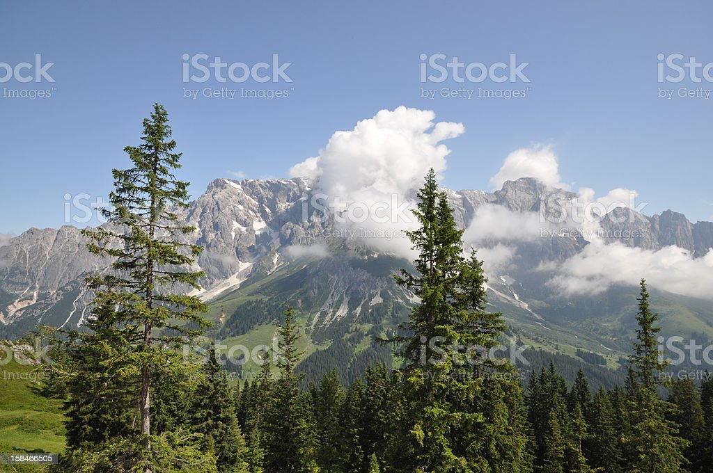 Hochk?nig, a mountain in Austria stock photo