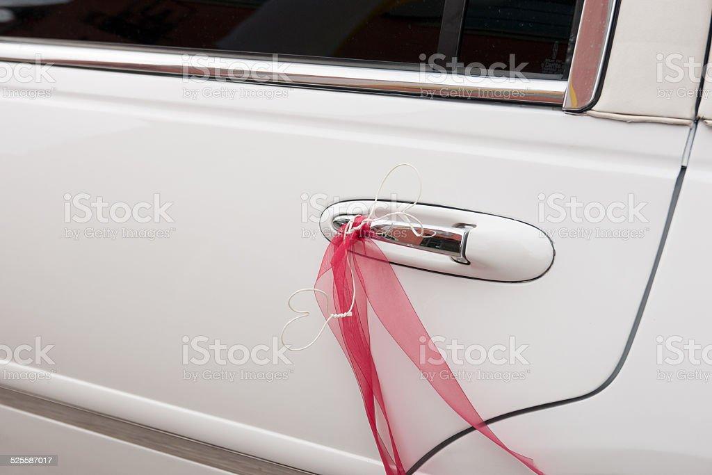 Hochzeitslimousine stock photo