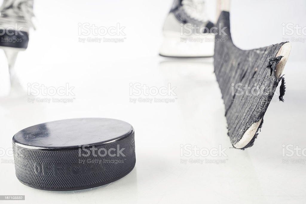 hockey equipment royalty-free stock photo