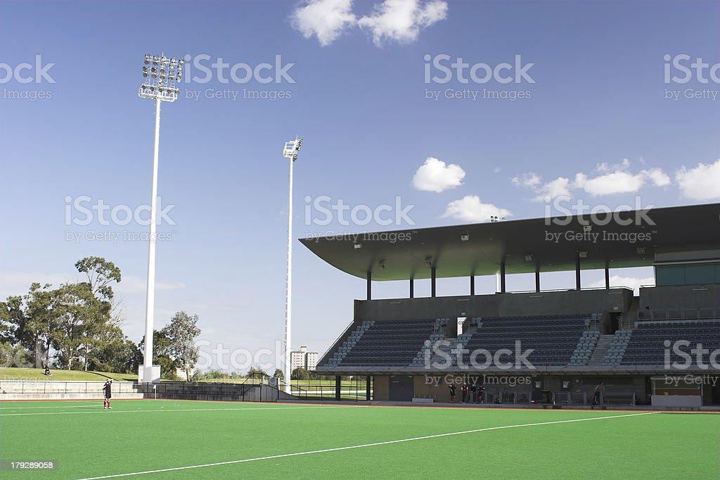 Hockey field royalty-free stock photo