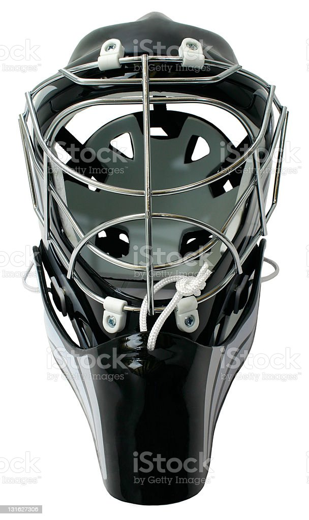 Hockey Goalie Helmet royalty-free stock photo