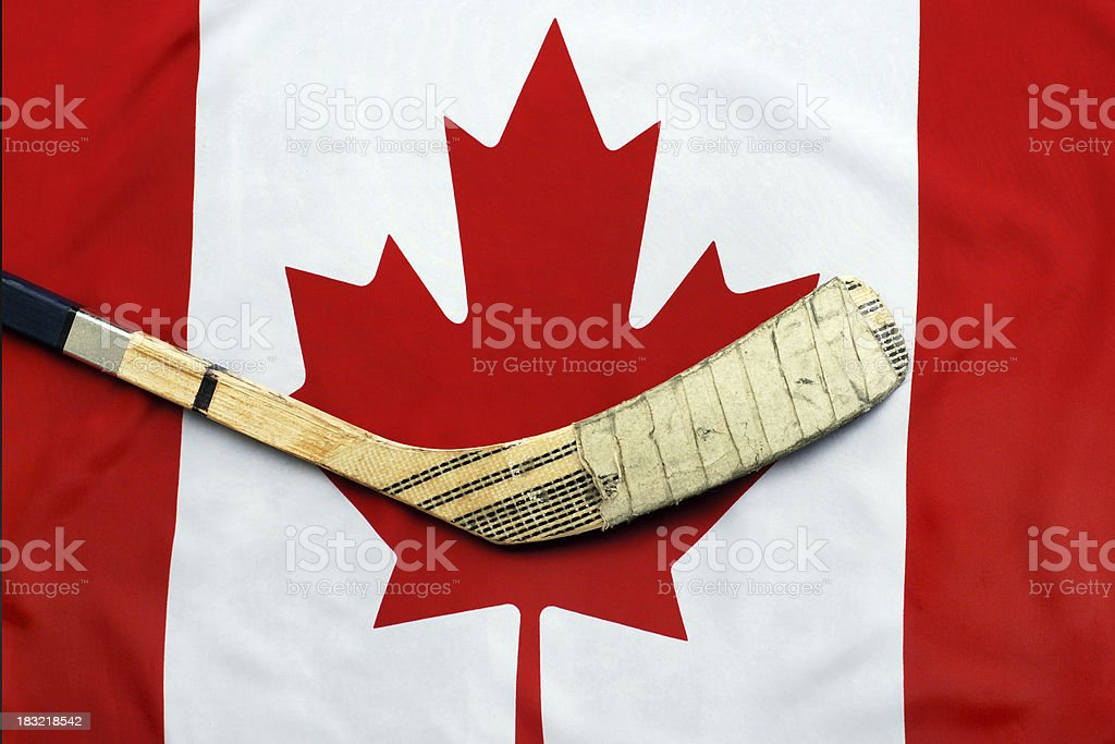 Hockey Nation royalty-free stock photo