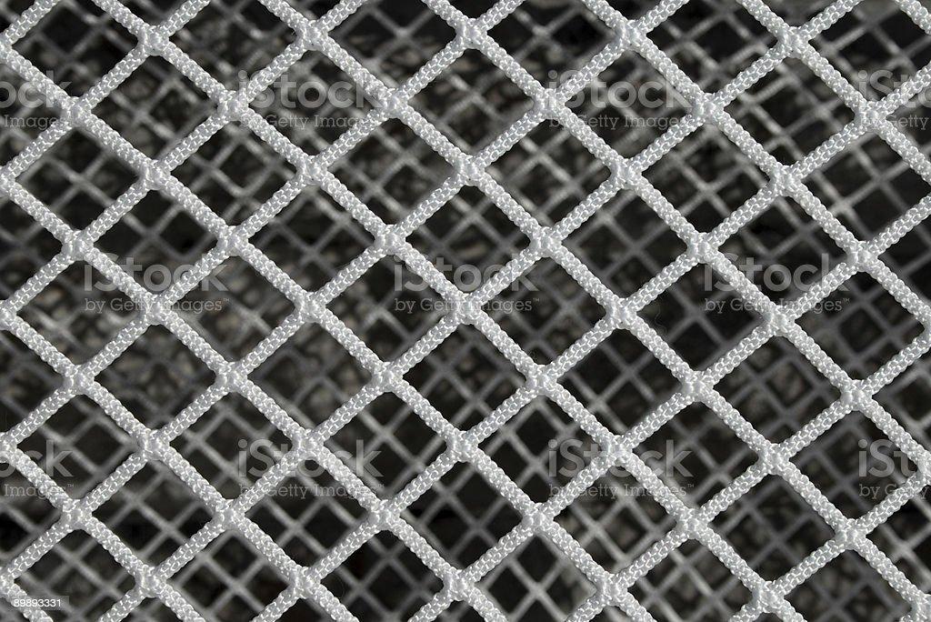 Hockey net pattern royalty-free stock photo