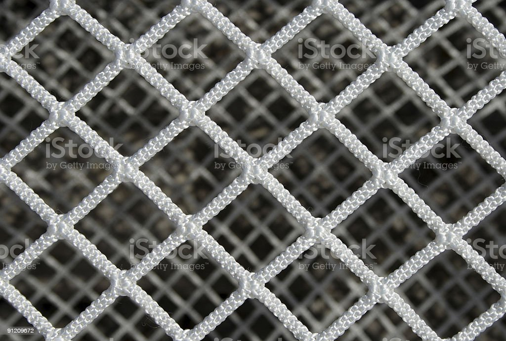 Hockey net pattern royalty-free stock photo