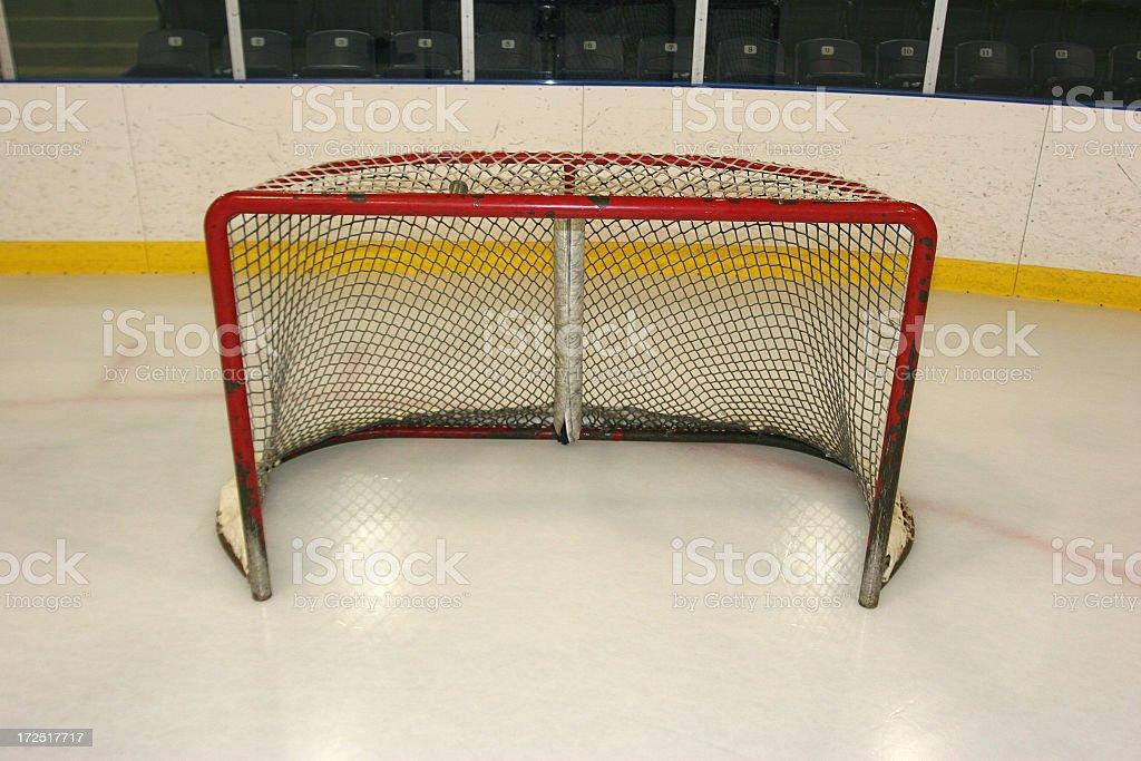 Hockey Net royalty-free stock photo
