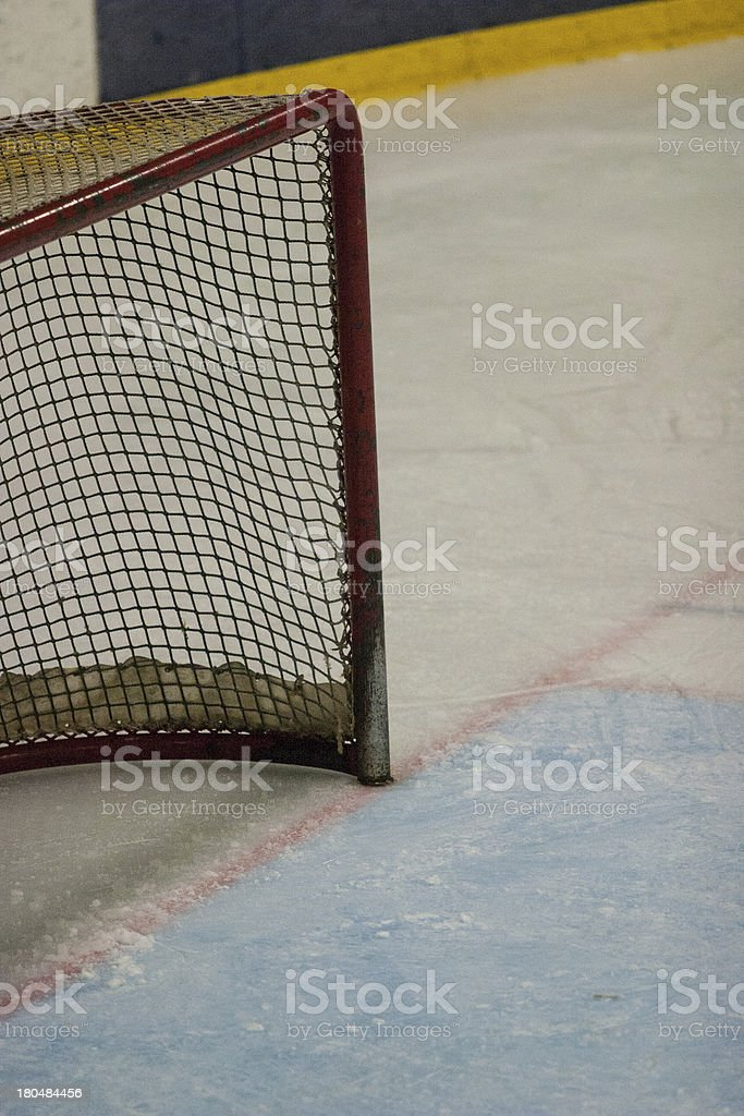 hockey net royalty-free stock photo