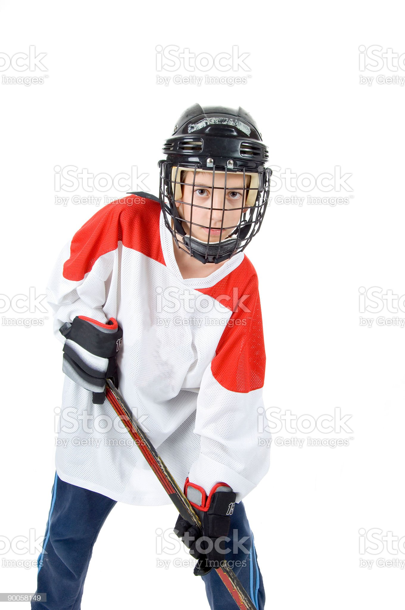 Hockey royalty-free stock photo