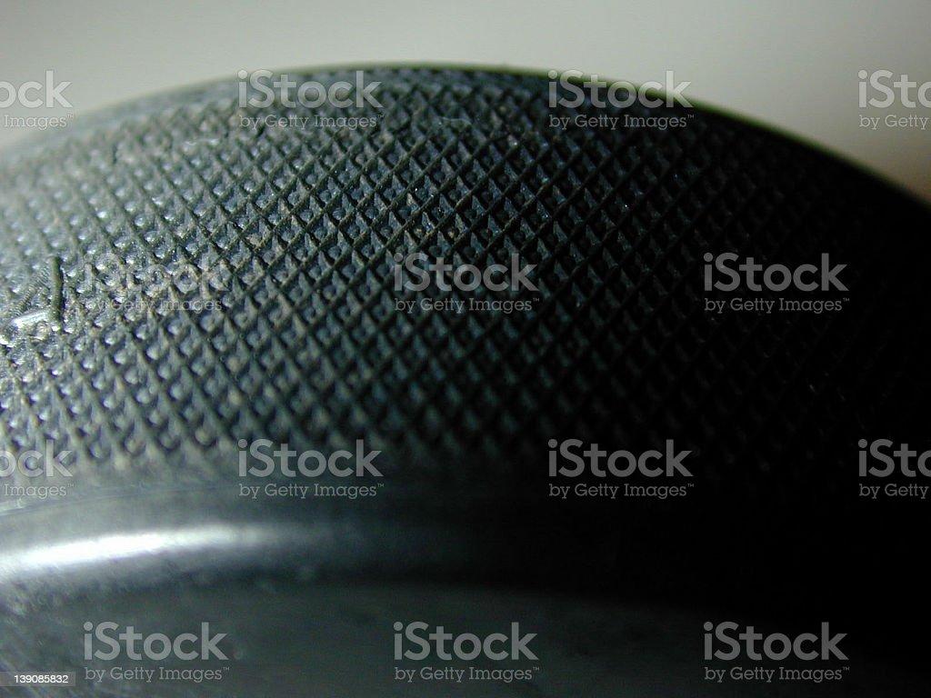 hockey puck 3 stock photo