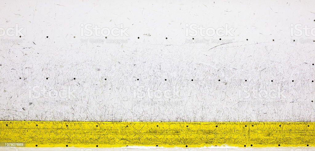 Hockey Rink Boards stock photo
