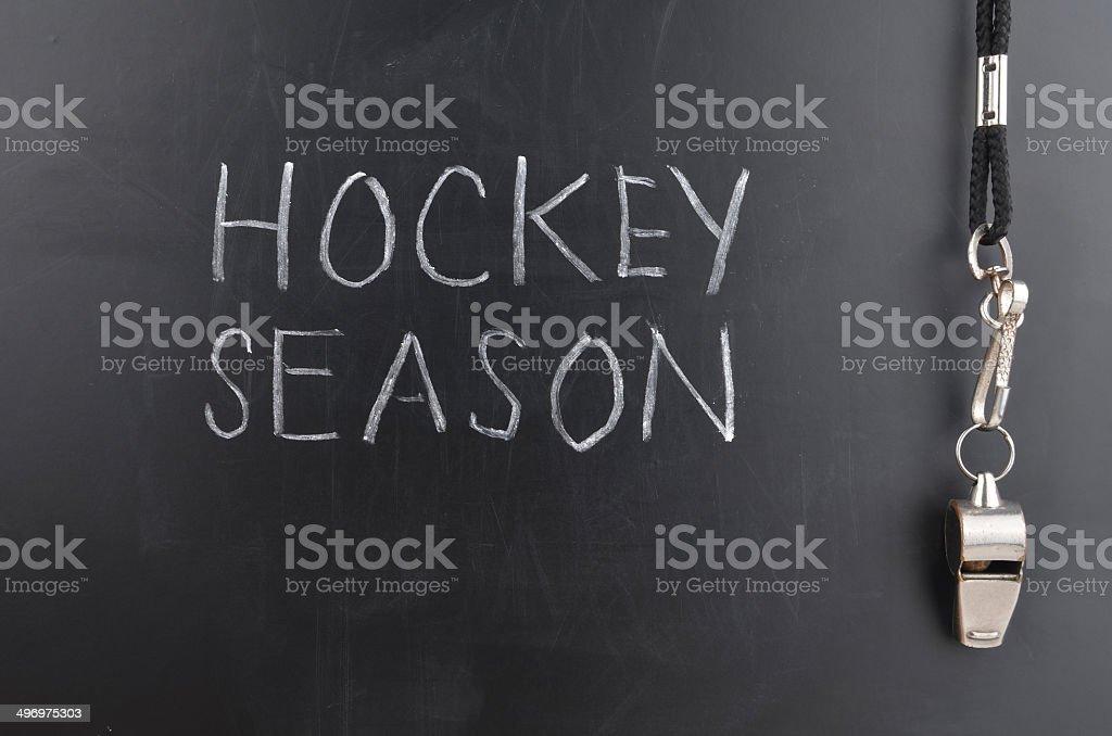 Hockey Season stock photo