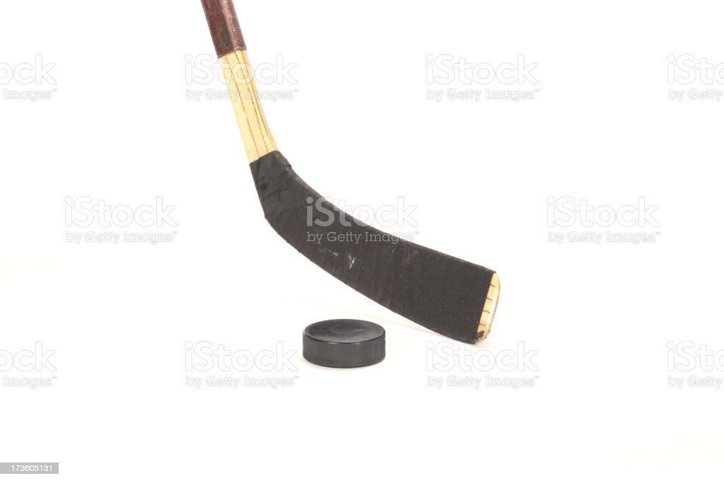 Hockey weapon royalty-free stock photo