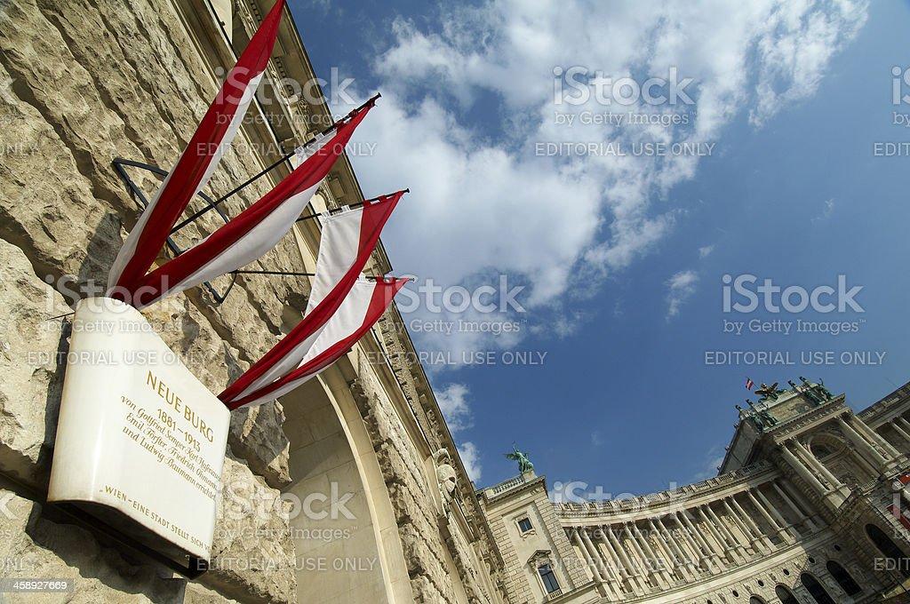 Hofburg Palace stock photo