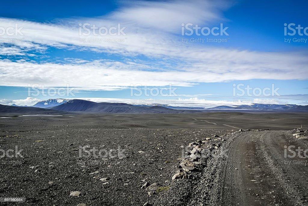 Hofskokull stock photo