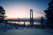 Hoga Kusten bridge, Sweden