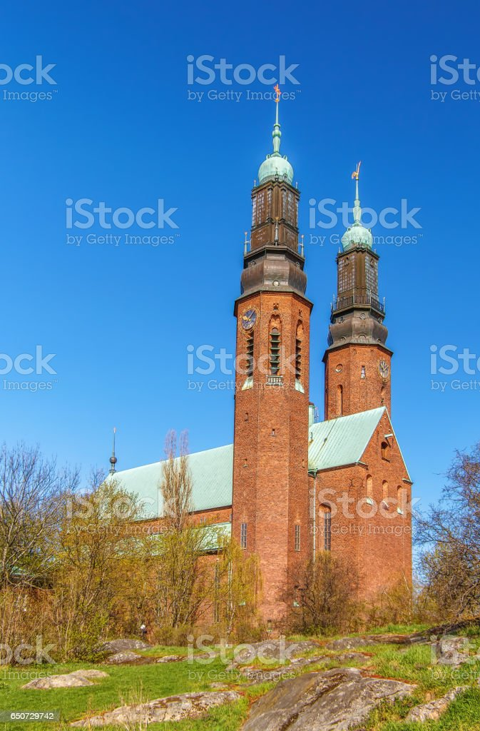 Hogalid Church, Stockholm, Sweden stock photo