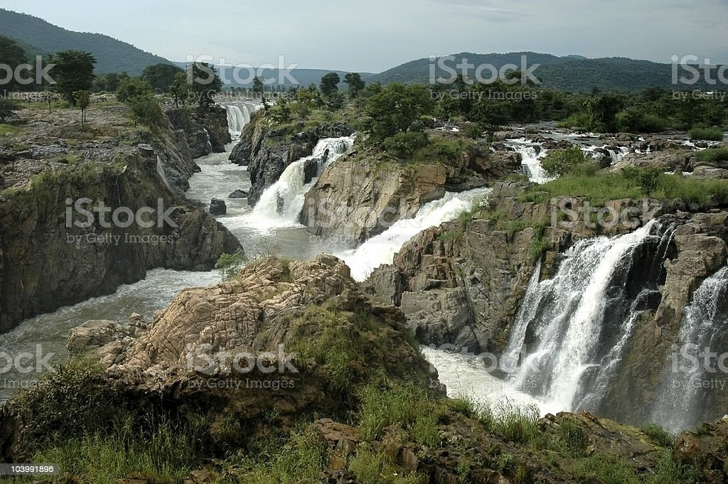 'Hogenakkal Falls' stock photo