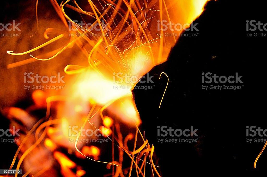 hoguera fuego royalty-free stock photo