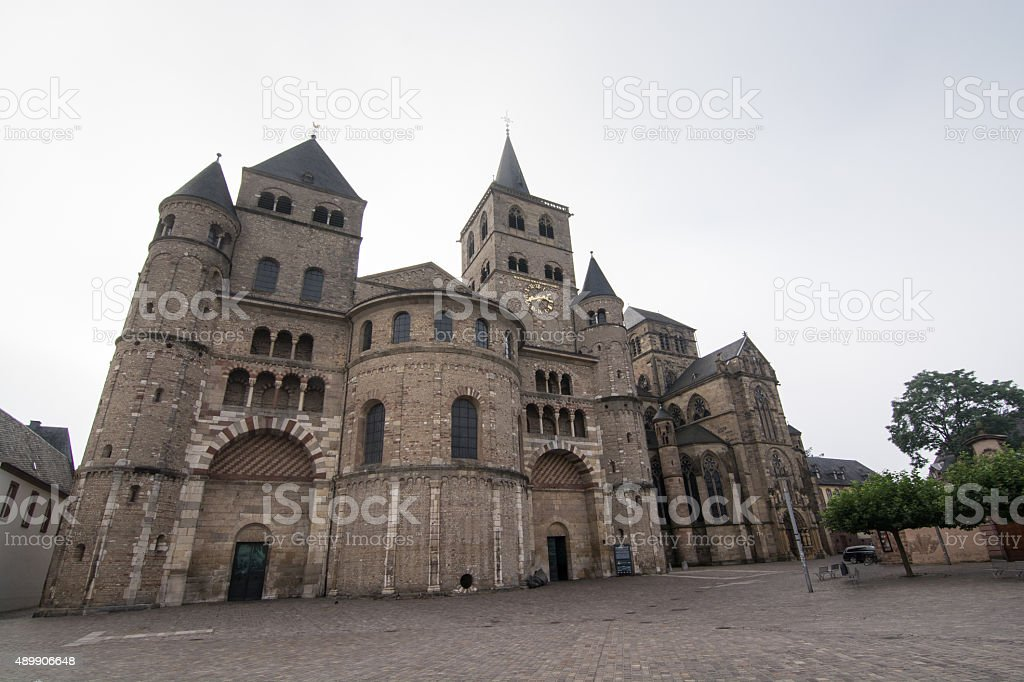 Hohe Domkirche St. Peter, Trier, Germany stock photo