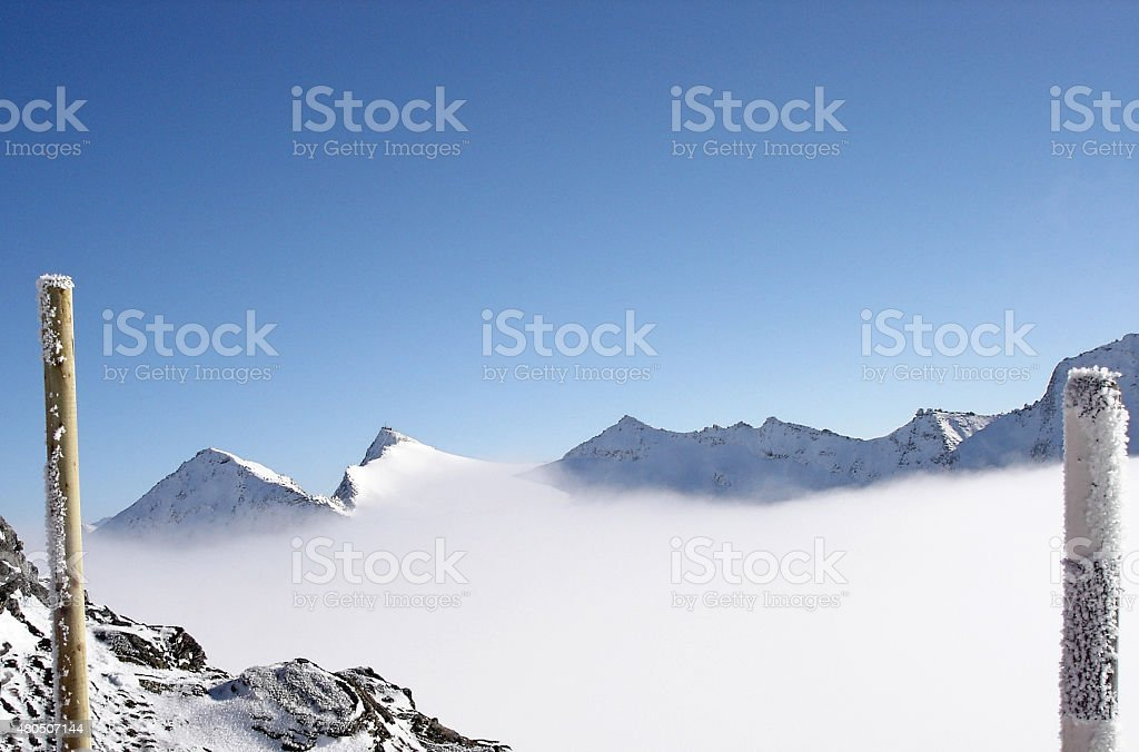 Hohe Tauern Mountain Range in Austria stock photo