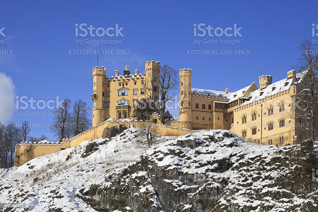 Hohenschwangau castle royalty-free stock photo