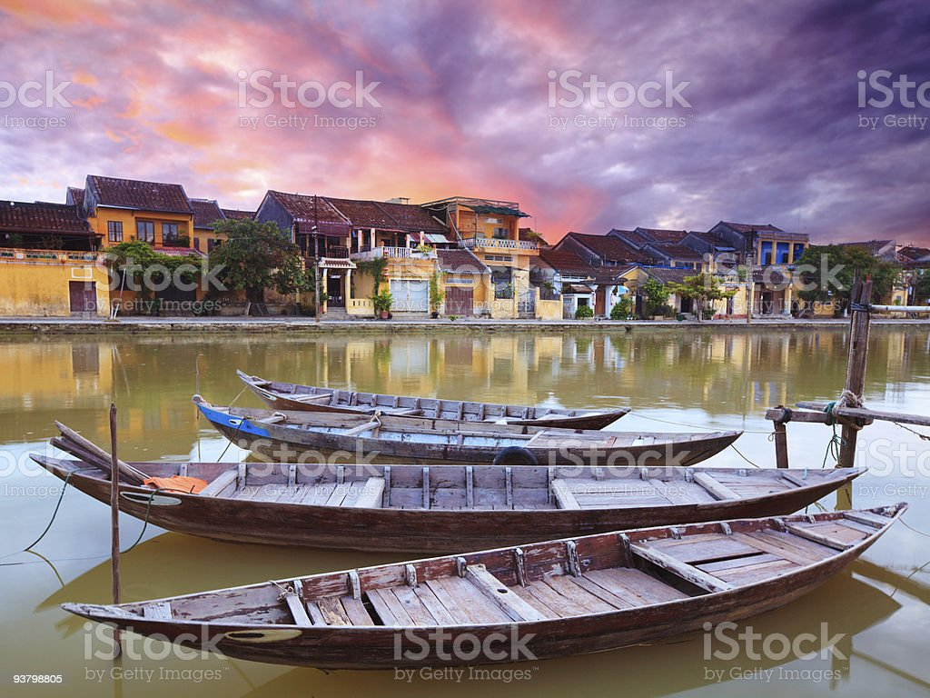 Hoi An old town royalty-free stock photo