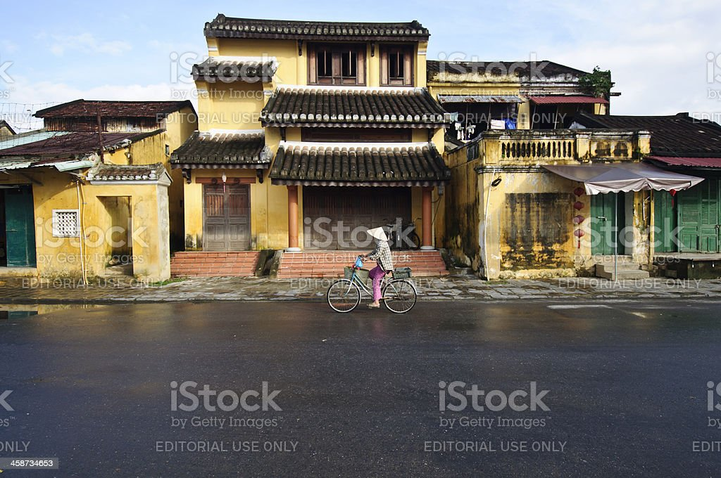 Hoi An street royalty-free stock photo