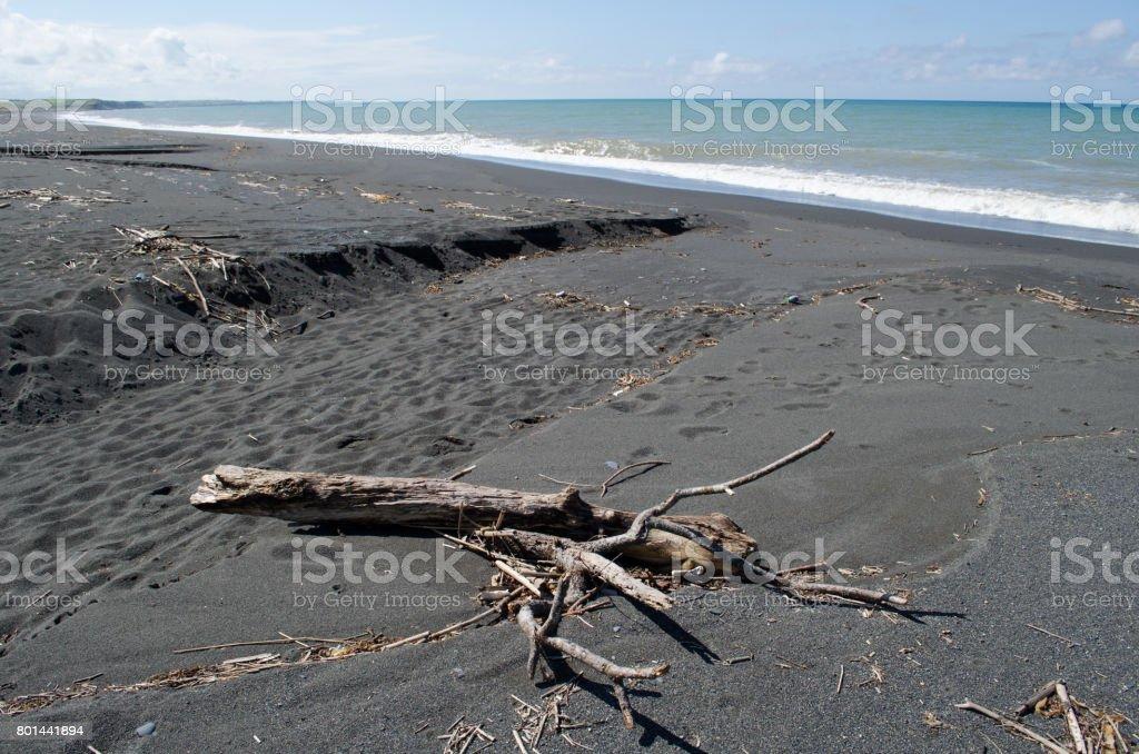 Hokkaido of the Japan Sea stock photo