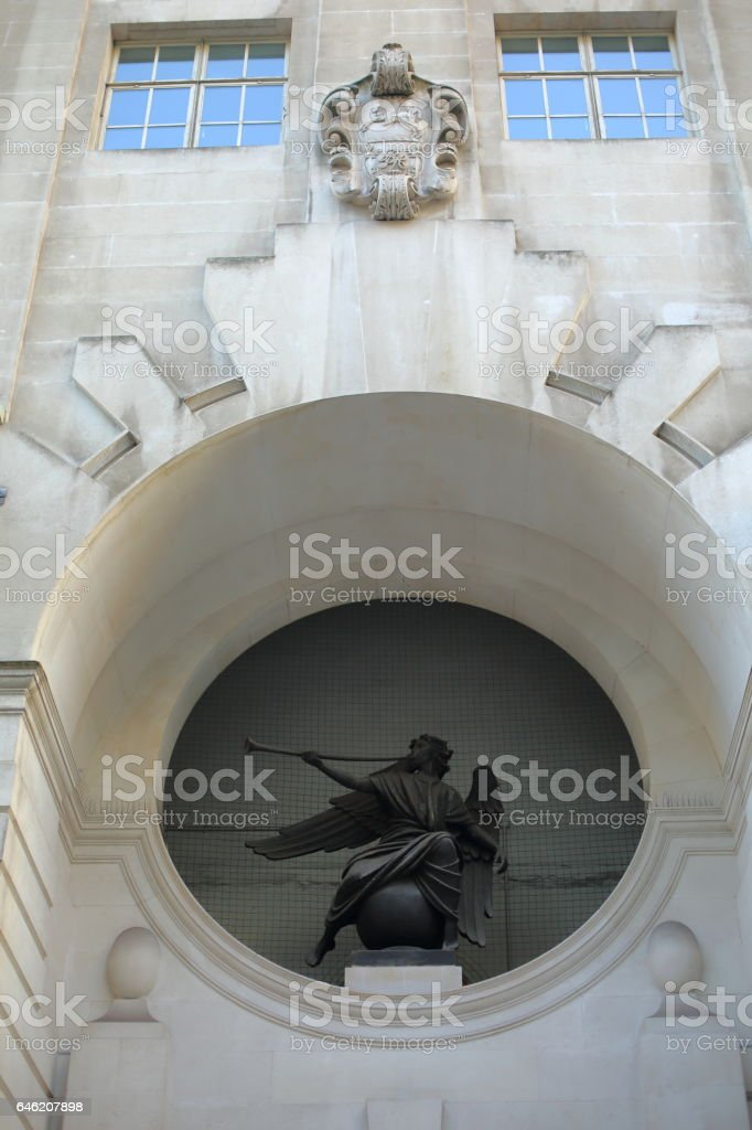Holborn, the City and St Pauls stock photo