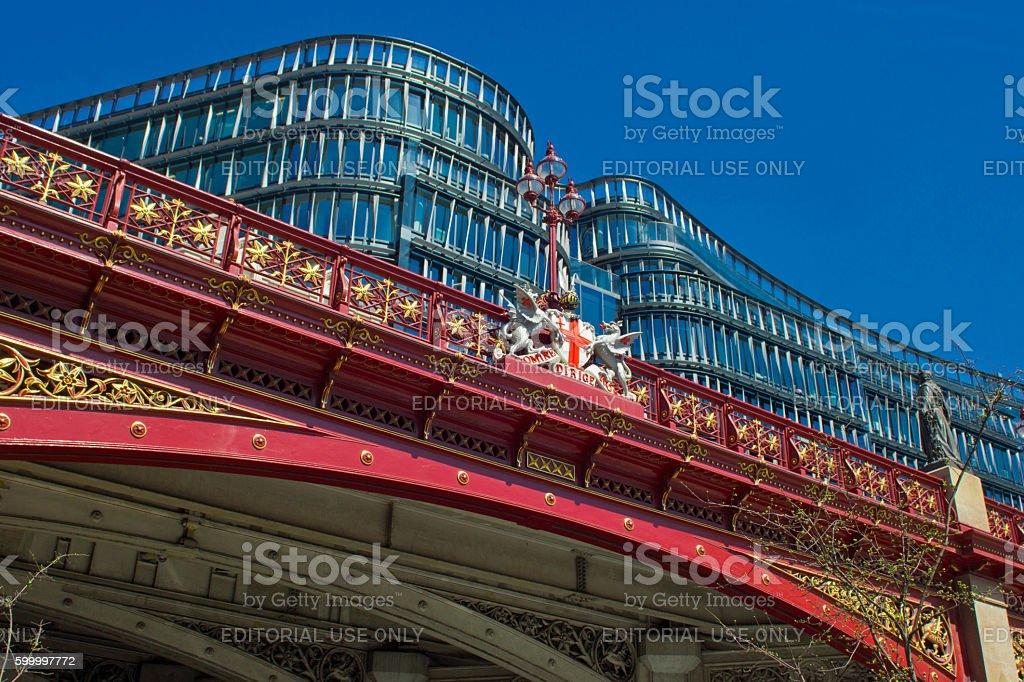 Holborn viaduct stock photo