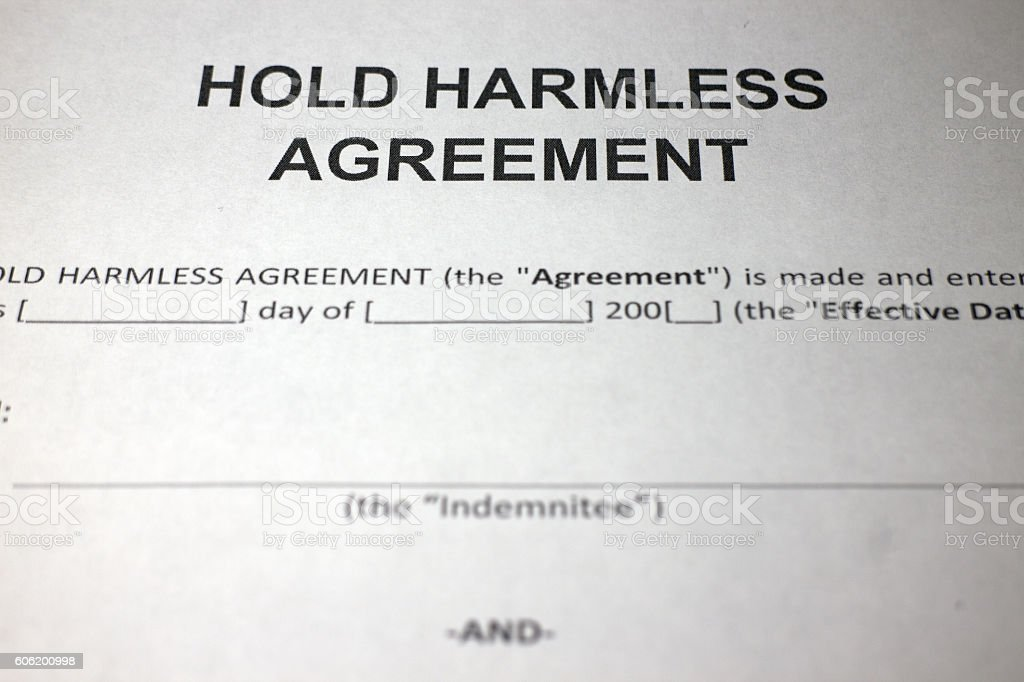Indemnity Agreement Pictures Images And Stock Photos  Istock